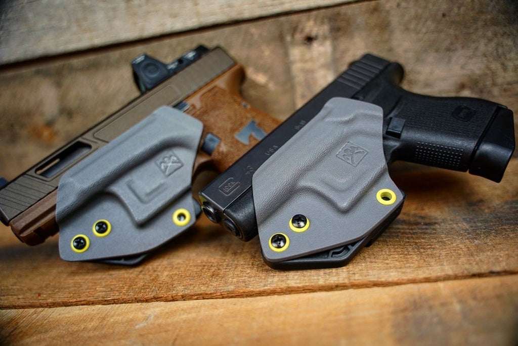 Stay the Course Wolf Gray Ghost Holster