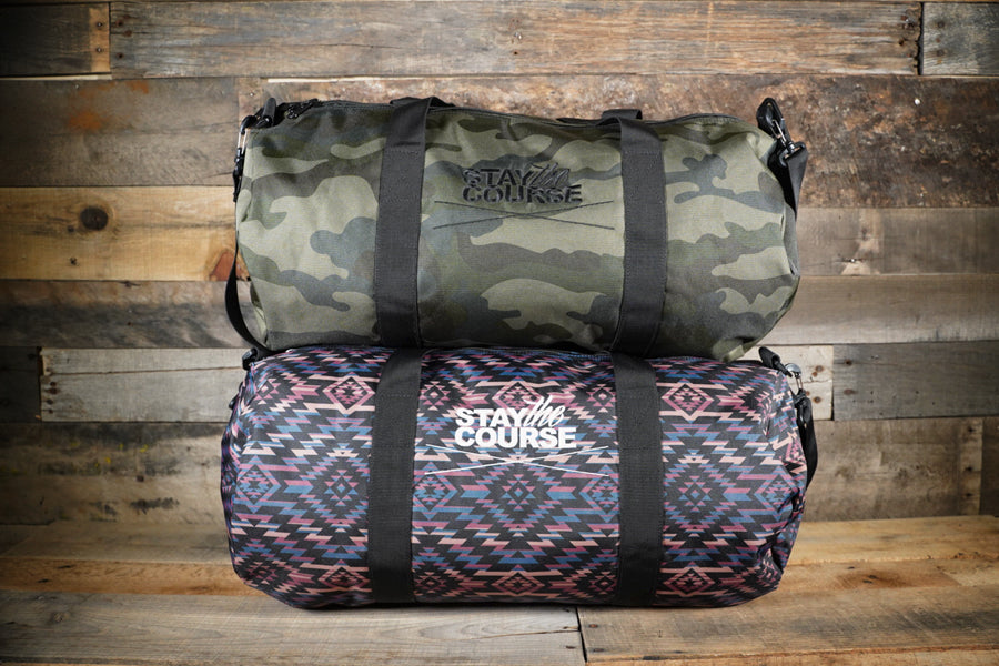 Stay the Course Duffle Bag