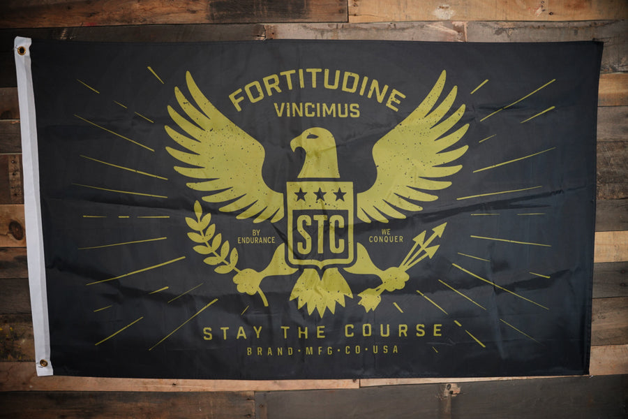 Stay the Course Flag