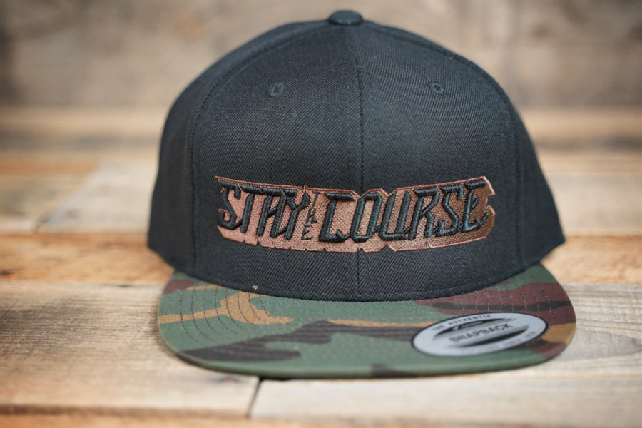 Stay the Course Gamer Snapback