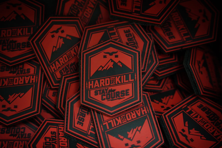 Hard to Kill PVC patch