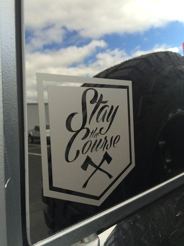Shield Vinyl Decal