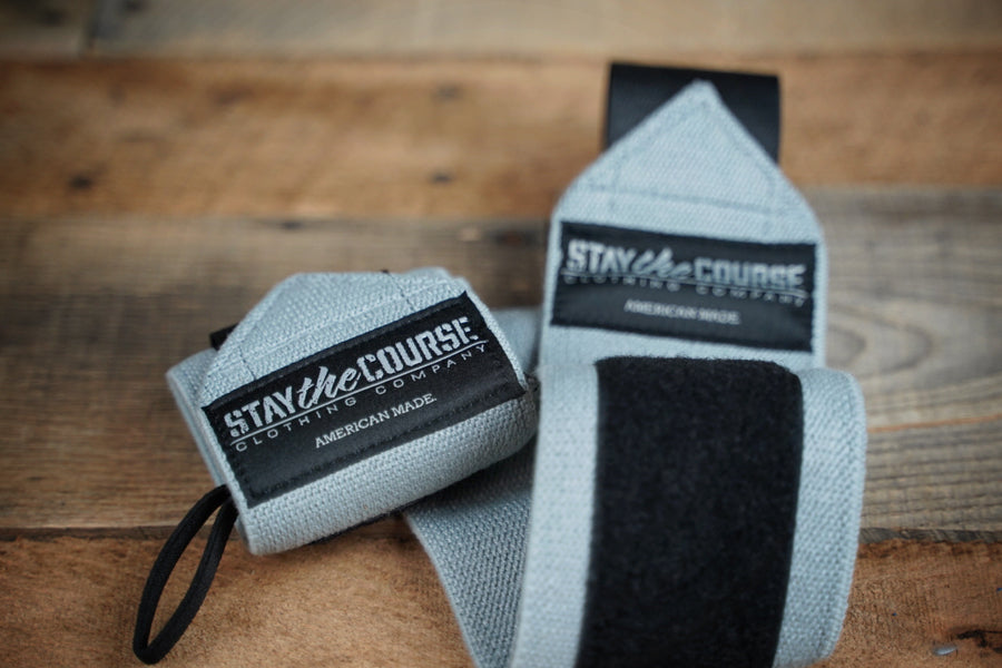 Stay the Course Wrist Wraps