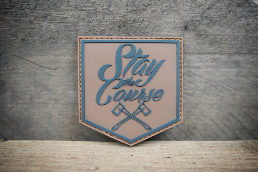 Stay the Course Shield Patch