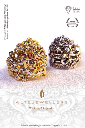 🏆 AWARD WINNING | Balinese Barong Ring ⭐⭐⭐