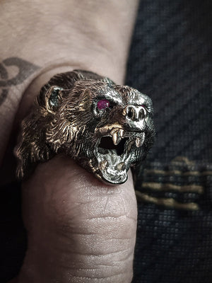Beast Ring | Black Bear