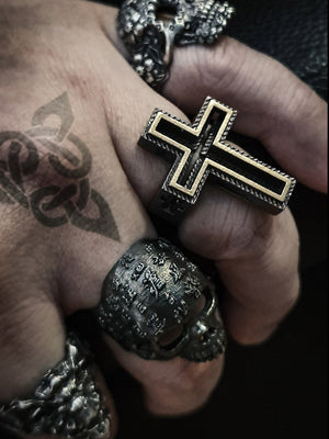 Skull Ring | Asian Scripture