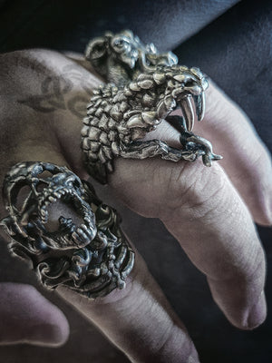 Beast Ring | Serpent Viper Snake ⭐⭐⭐⭐⭐