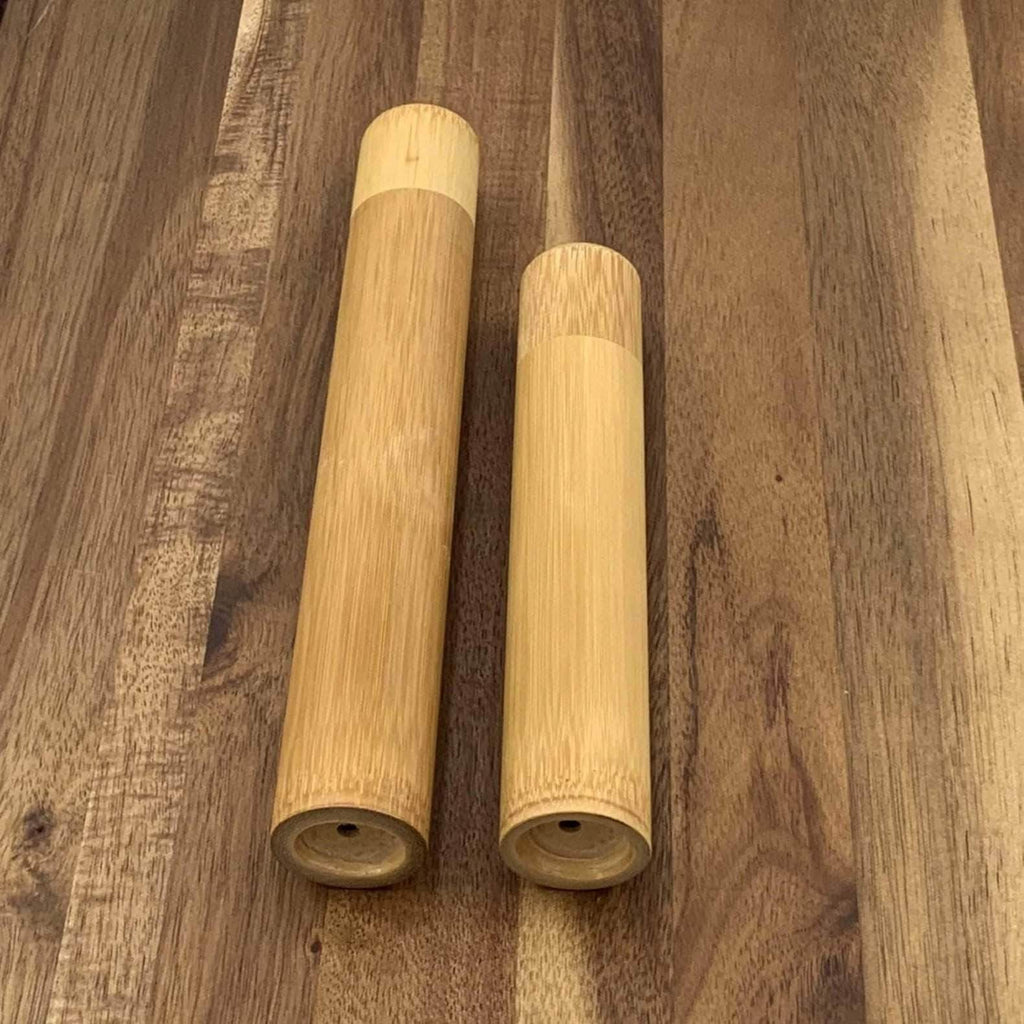 Bamboo Toothbrush Tube