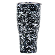 Load image into Gallery viewer, Tumbler 30oz: Double Wall Stainless Steel Cup - Zebra