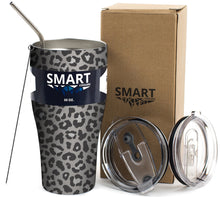 Load image into Gallery viewer, Tumbler 30oz: Double Wall Stainless Steel Cup - Animal Print