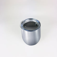 Load image into Gallery viewer, Stainless Steel 12oz Wine Tumbler:  Silver
