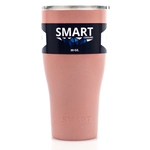 Tumbler 30oz: Double Wall Stainless Steel Cup Rose Gold