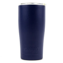 Load image into Gallery viewer, Tumbler 20oz: Double Wall Stainless Steel Cup Navy Blue