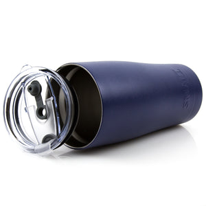 Tumbler 20oz: Double Wall Stainless Steel Cup Navy Blue