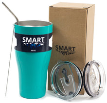 Load image into Gallery viewer, Tumbler 30oz: Double Wall Stainless Steel Cup - Turquoise