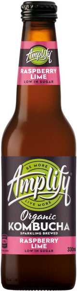 Amplify Rasp Lime 330ml