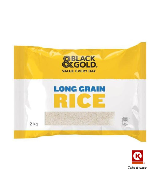 B/GOLD RICE LONG GRAIN 2KG