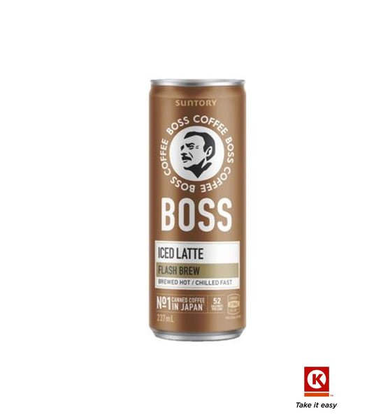 Boss Iced Latte 237ml