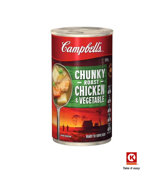 Campbell soup chickn&vege 505g