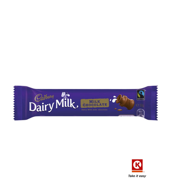 Cadbury Milk  Chocolate   50g