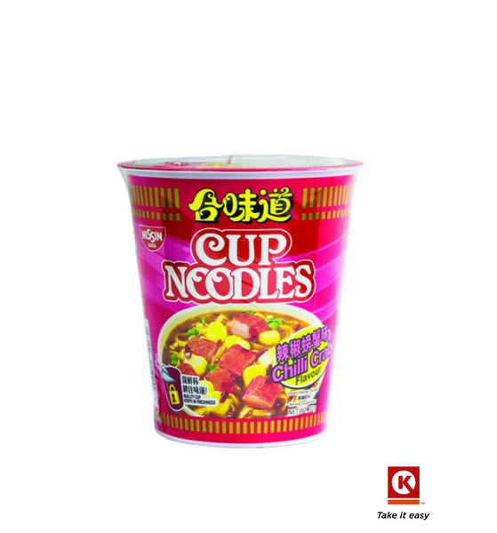Nissin Cup Ndl Chilli Crab