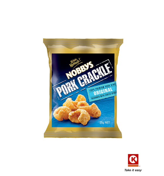 Nobbys Pork crackle 25gm