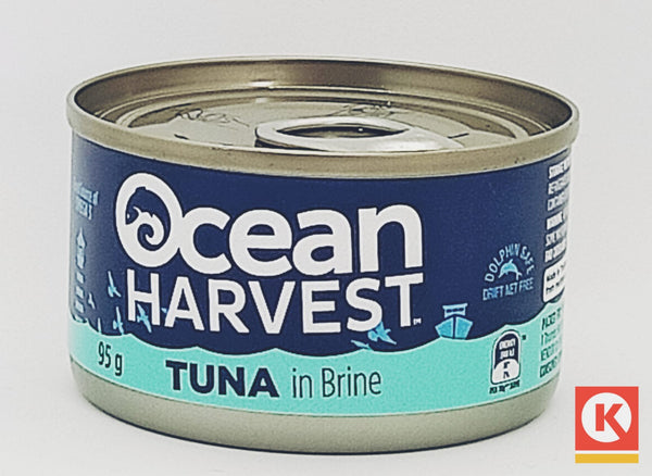 OCEAN HVST TUNA IN BRINE 95GM