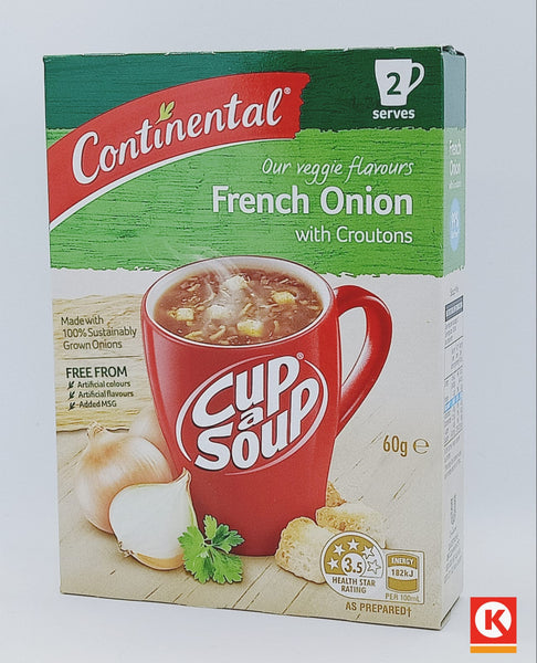 CUPASOUP CRT FRNCH ONION 60GM