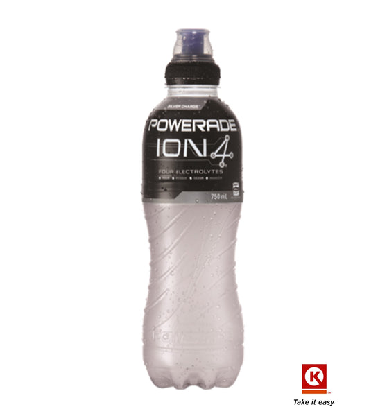 Powerade silver charge 750ml