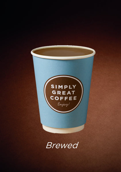 Simply Great Coffee -Brewed