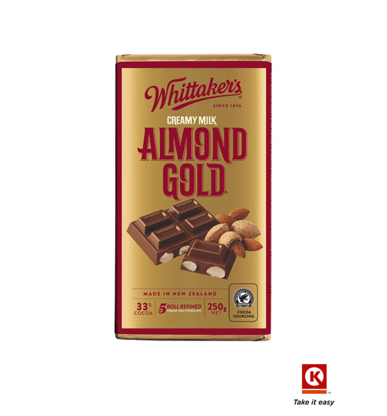 Whittakers Almond 250g