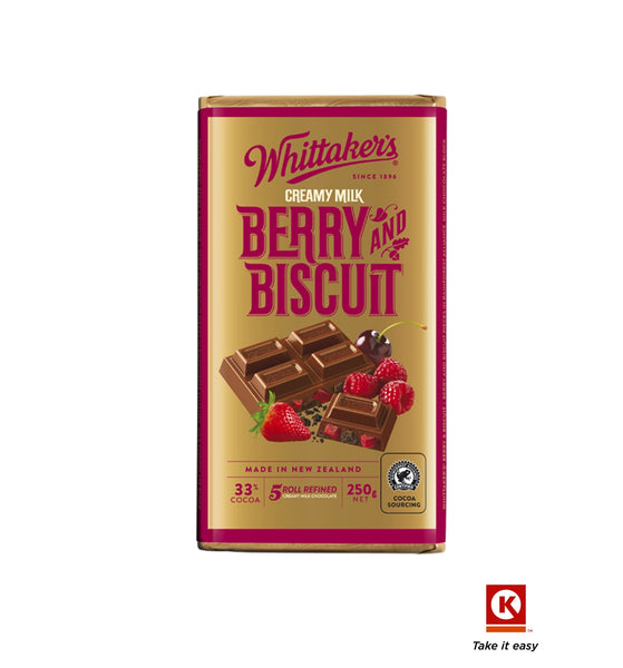 Whittakers Berry& biscuit 250g