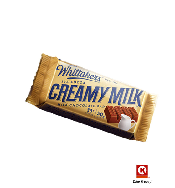 Whittakers Creamy Milk  50g