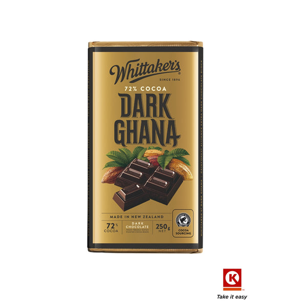 Whittakers Dark Ghana 250gm