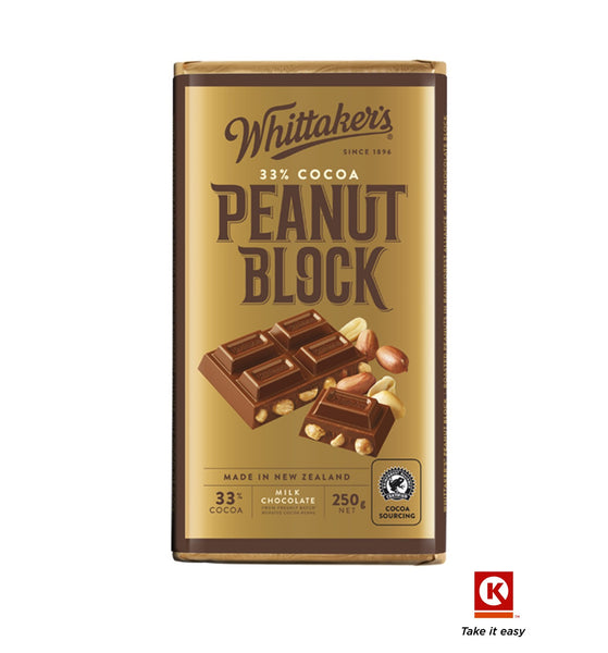 Whittakers Peanut Block 250gm