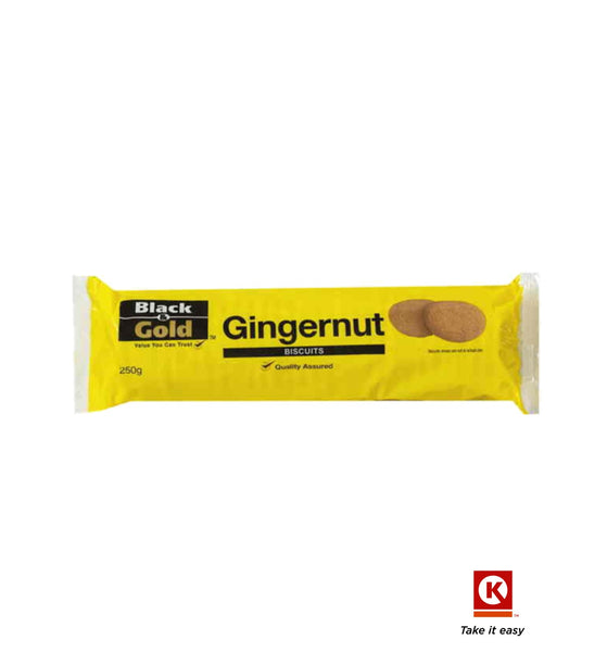 B/GOLD BISC GINGERNT CKI 250GM