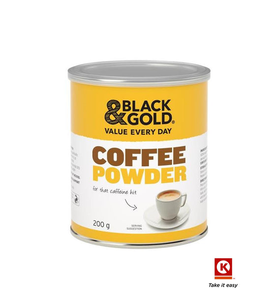 B/GOLD COFFEE PDR TIN 200GM