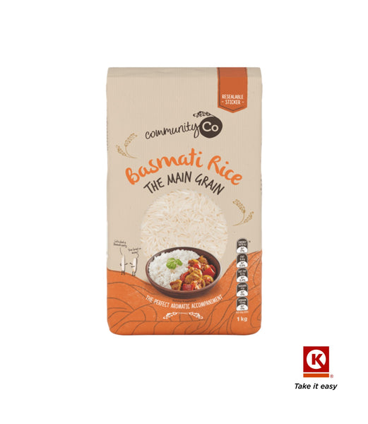 COMM CO RICE BASMATI 1KG 1KG