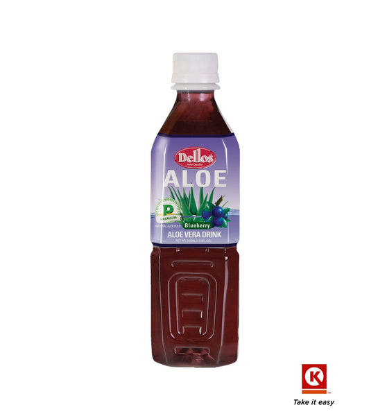 Dellos Aloe Blueberry 500