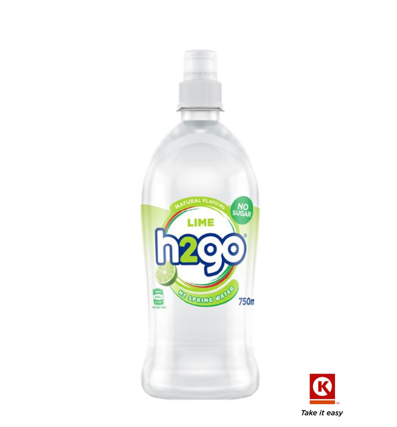 H2Go Spring Lime Water 750ml