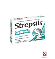 Strepsils Sore Throat&Nose 16