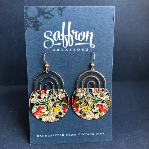 Florentine Rainbow Earrings