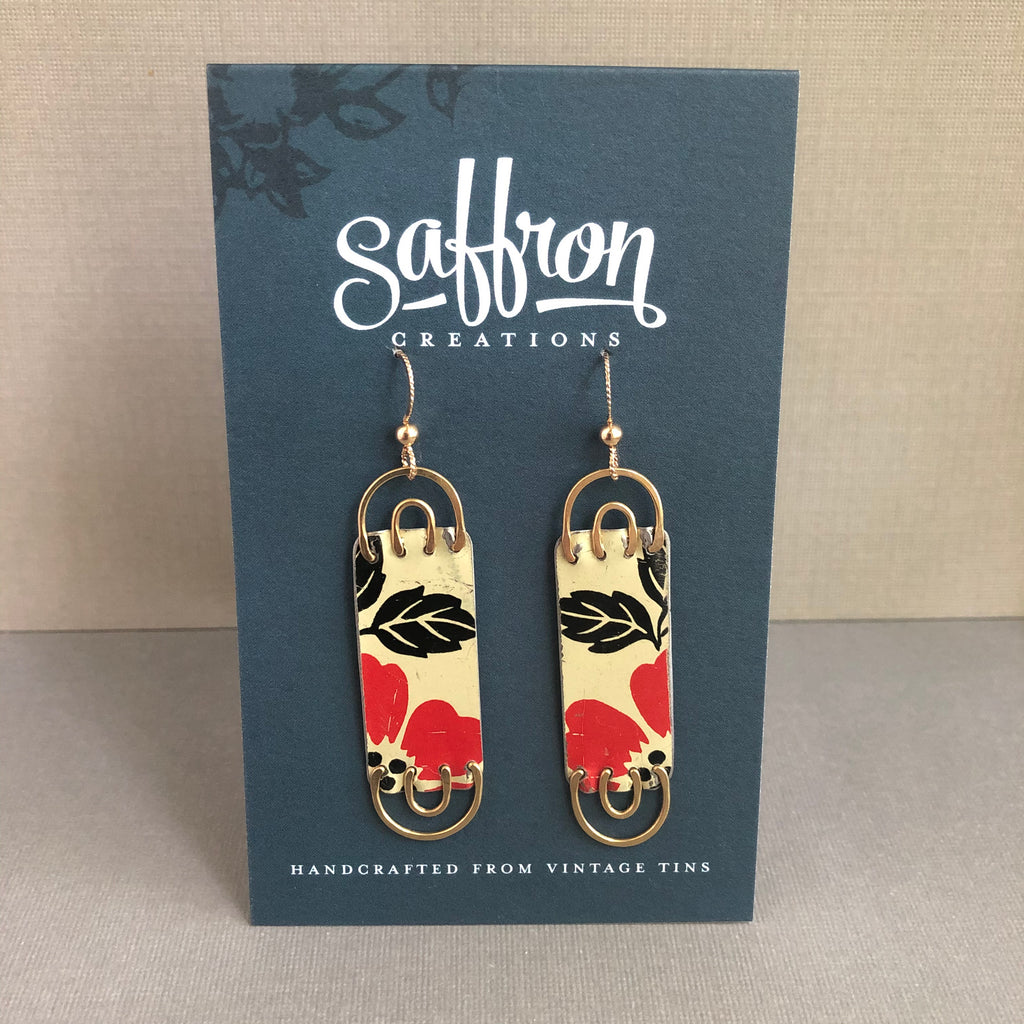 Crimson As Above, So Below Earrings