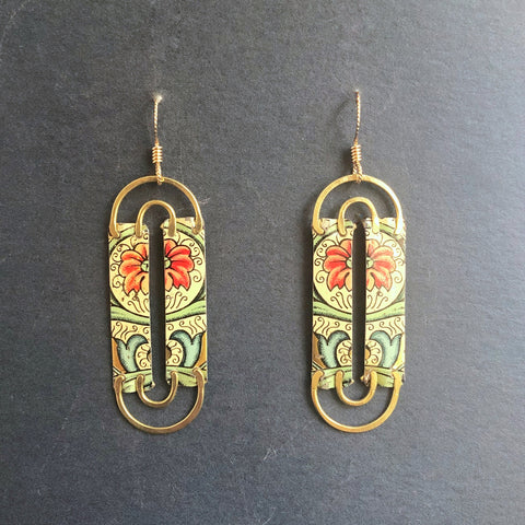 Florentine Threshold Earrings