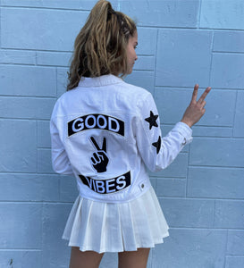 Good Vibes Denim Jacket