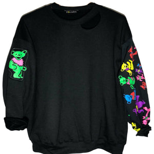 Grateful Dead Dancing Bears Sleeves Sweatshirts