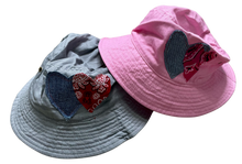 Heart Bucket Hats