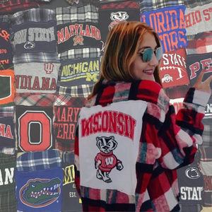College Vintage Flannels - Pick Your School