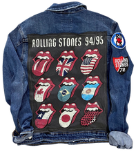 Rolling Stones Voodoo Lounge Denim Jacket